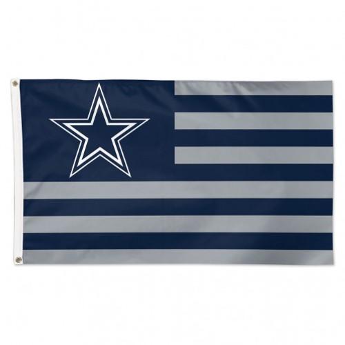 Dallas Cowboys Flag 3x5 Deluxe Americana Design