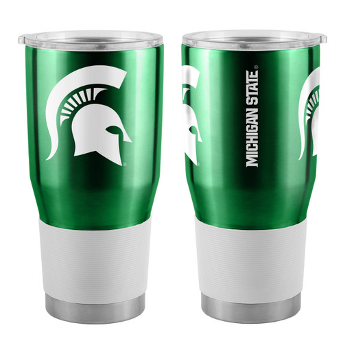 Michigan State Spartans Travel Tumbler 30oz Ultra Green