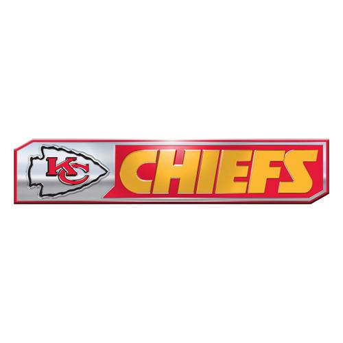 Kansas City Chiefs Auto Emblem Truck Edition 2 Pack