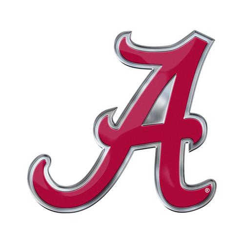 alabama crimson tide auto emblem oval color bling caseys rh caseys distributing com alabama football logo stencil