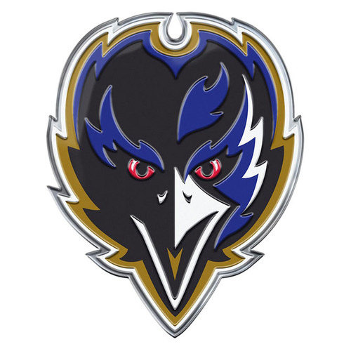 Baltimore Ravens Auto Emblem Color Alternate Logo