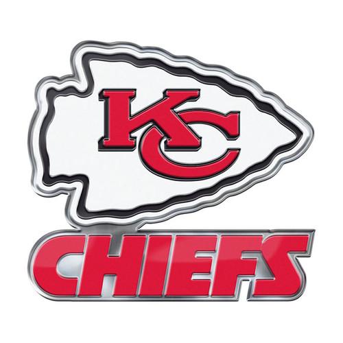 Kansas City Chiefs Auto Emblem Color Alternate Logo
