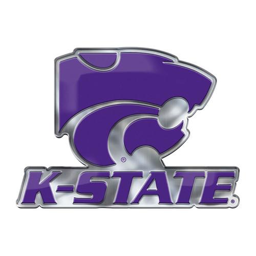 Kansas State Wildcats Auto Emblem Color Alternate Logo