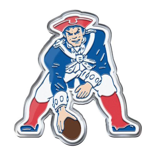 New England Patriots Auto Emblem Color Alternate Logo