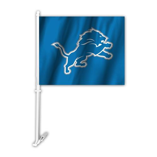 Detroit Lions Flag Car Style