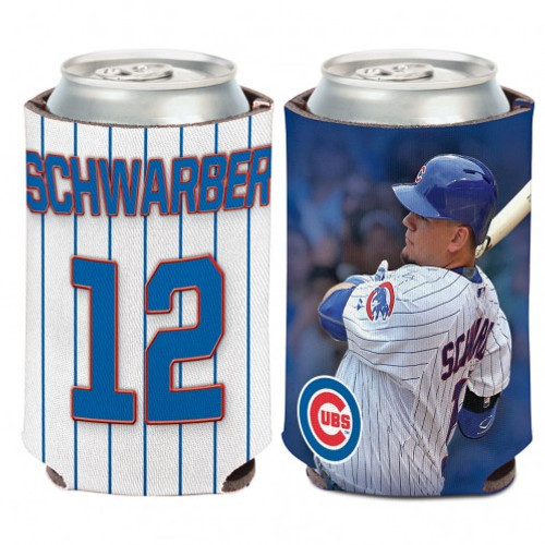 Chicago Cubs Can Cooler Kyle Schwarber Design