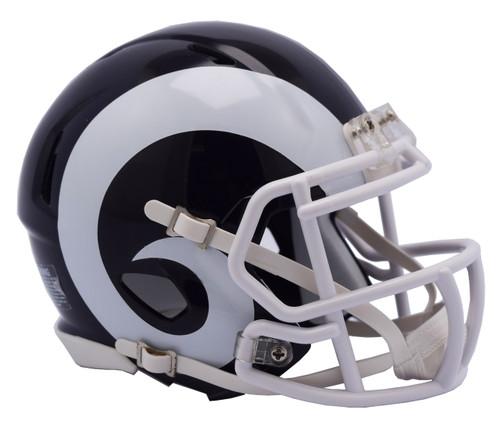 Los Angeles Rams Helmet Riddell Replica Full Size Speed Style