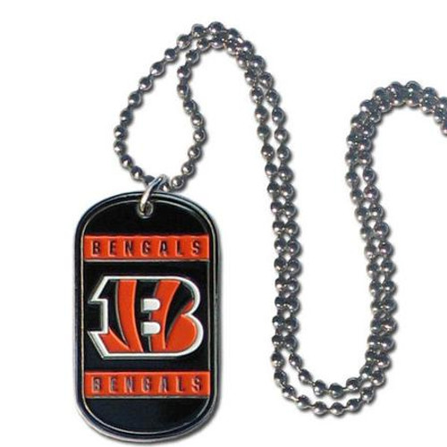 Cincinnati Bengals Necklace Tag Style
