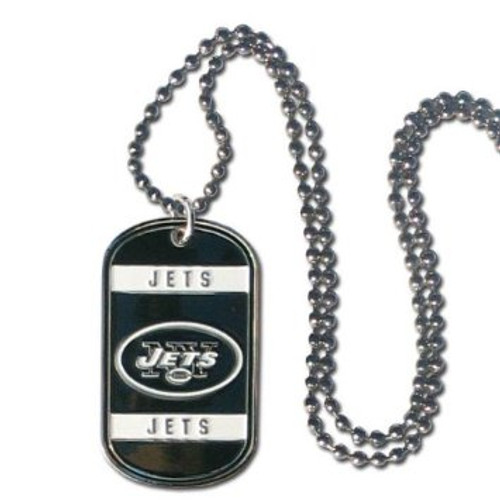 New York Jets Necklace Tag Style