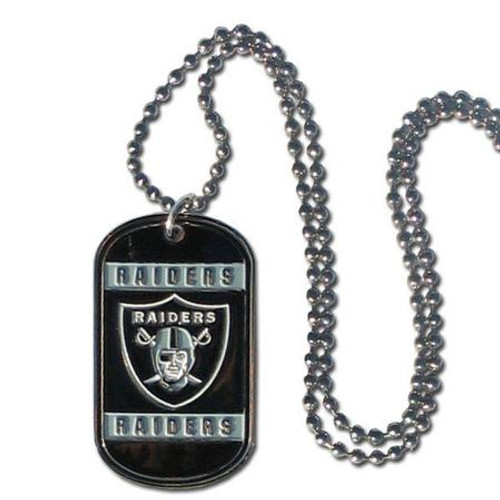 Oakland Raiders Necklace Tag Style