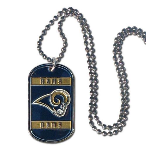 Los Angeles Rams Necklace Tag Style