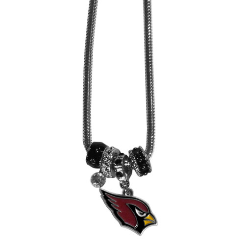 Arizona Cardinals Necklace Euro Bead Style