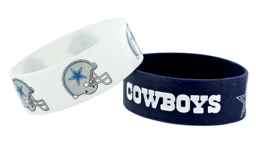 Dallas Cowboys Bracelets 2 Pack Wide