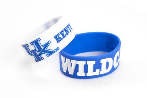 Kentucky Wildcats Bracelets - 2 Pack Wide