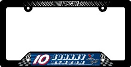 Johnny Benson License Plate Frame