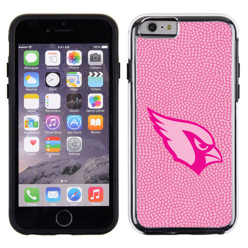 Arizona Cardinals Pink NFL Football Pebble Grain Feel IPhone 6 Case - Special Order