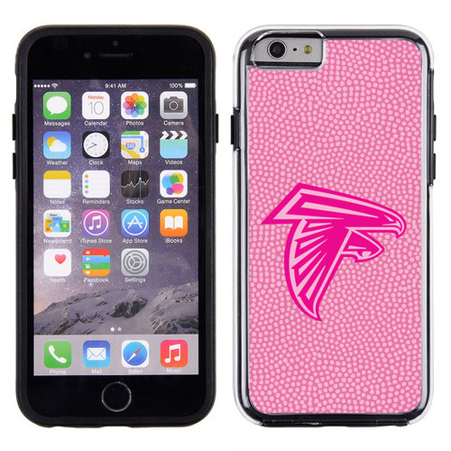 Atlanta Falcons Pink NFL Football Pebble Grain Feel IPhone 6 Case - Special Order