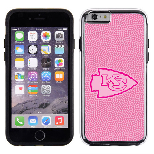 Kansas City Chiefs Pink NFL Football Pebble Grain Feel IPhone 6 Case - Special Order