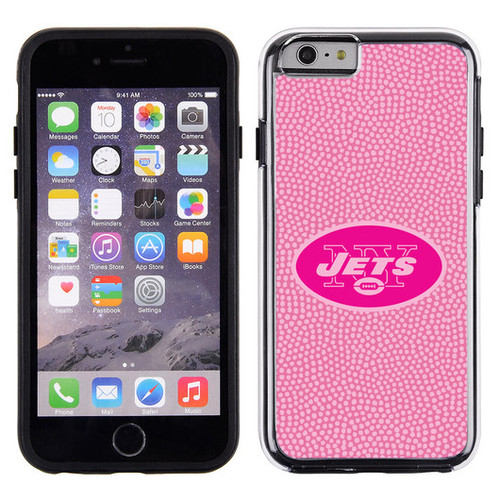 New York Jets Pink NFL Football Pebble Grain Feel IPhone 6 Case - Special Order