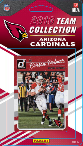 Arizona Cardinals Donruss NFL Team Set - 2016