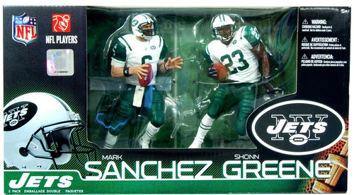 New York Jets Sport Picks NFL 16 Mark Sanchez and Shonn Greene 2 Pack