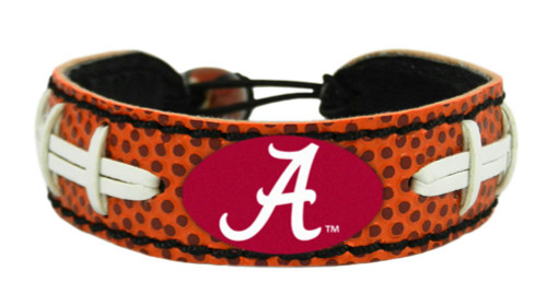 Alabama Crimson Tide Bracelet - Classic Football - Special Order
