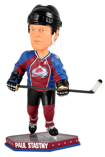 Colorado Avalanche Paul Stastny Forever Collectibles Bobblehead - Rink Base - Special Order