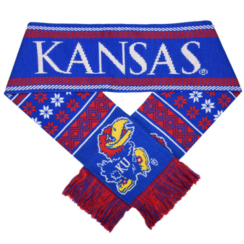 Kansas Jayhawks Lodge Scarf - 2015