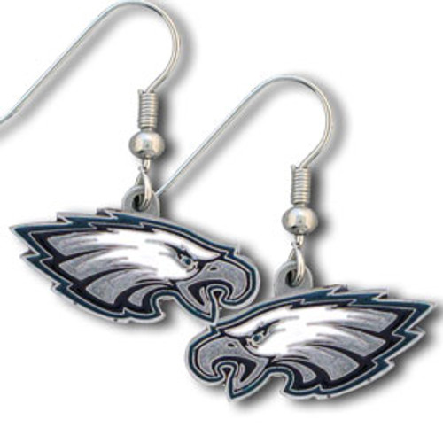 Philadelphia Eagles Earrings Dangle Style