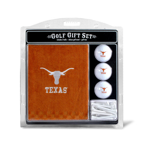 Texas Longhorns Golf Gift Set with Embroidered Towel