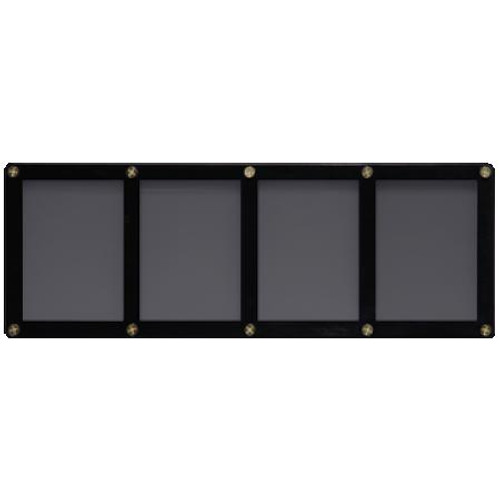 4 Card Holder - Black