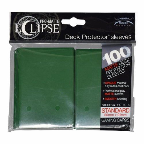 Deck Protectors - Pro Matte - Eclipse Forest Green (100 Per Pack)