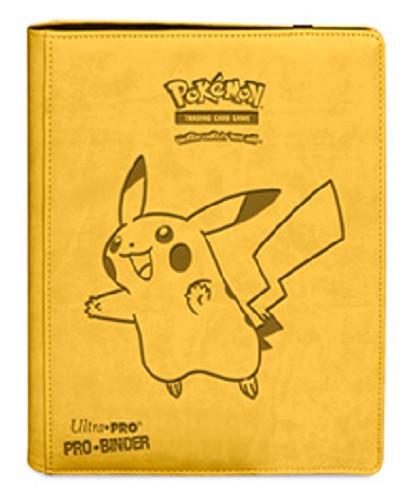 Pokemon Premium Pro Binder Pikachu