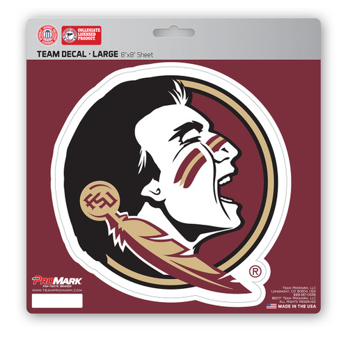 Florida State Seminoles Decal 8x8 Die Cut
