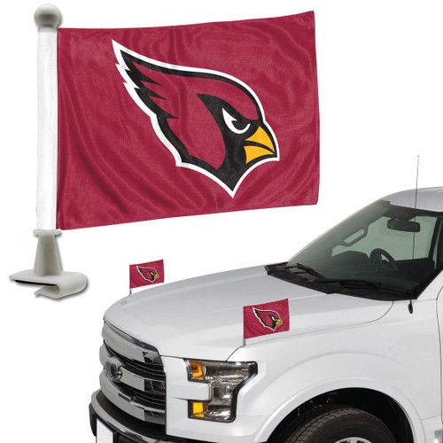 Arizona Cardinals Flag Set 2 Piece Ambassador Style