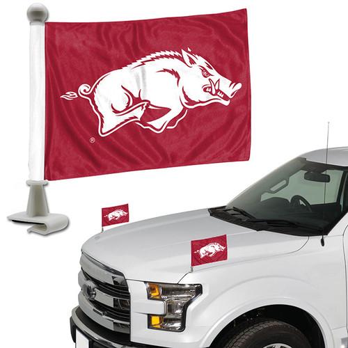 Arkansas Razorbacks Flag Set 2 Piece Ambassador Style