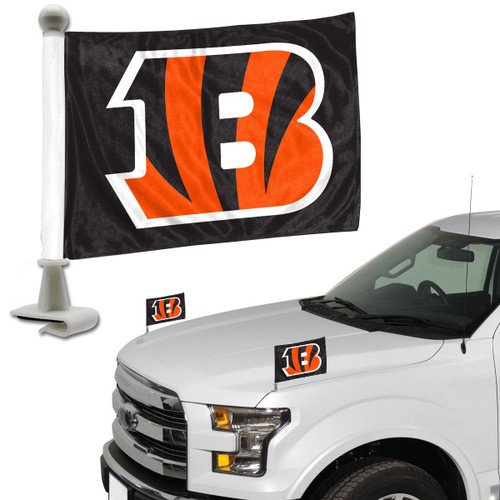 Cincinnati Bengals Flag Set 2 Piece Ambassador Style