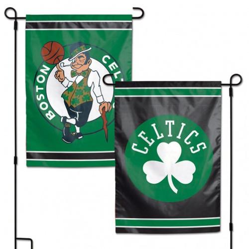 Boston Celtics Flag 12x18 Garden Style 2 Sided