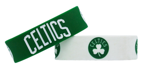 Boston Celtics Bracelets 2 Pack Wide