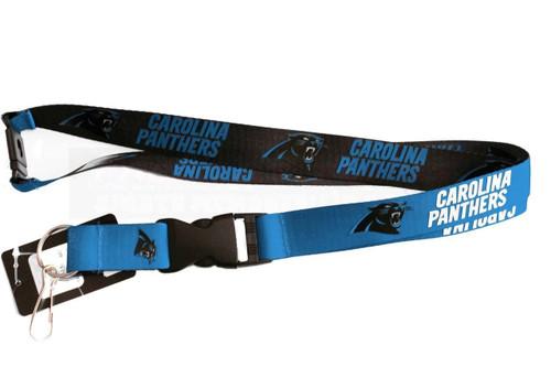 Carolina Panthers Lanyard Reversible
