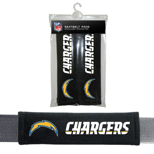 Los Angeles Chargers Seat Belt Pads