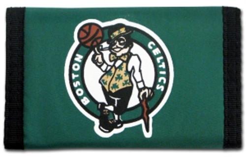 Boston Celtics Wallet Nylon Trifold