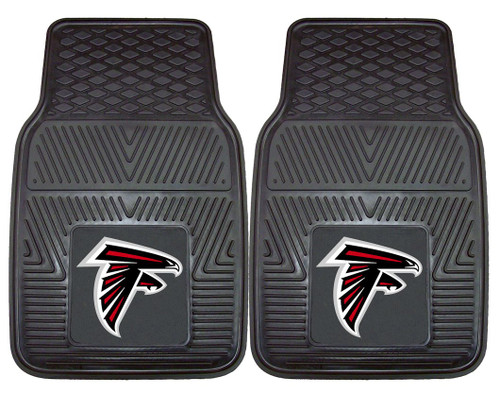 Atlanta Falcons Car Mats Heavy Duty 2 Piece Vinyl