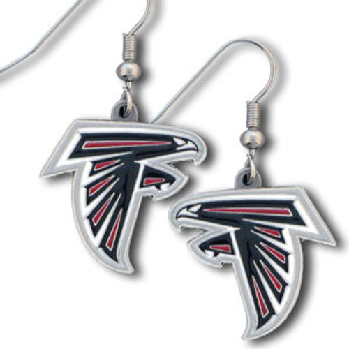 Atlanta Falcons Earrings Dangle Style