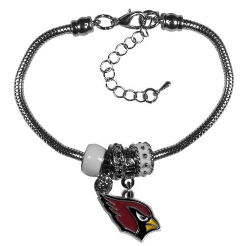 Arizona Cardinals Bracelet Euro Bead Style