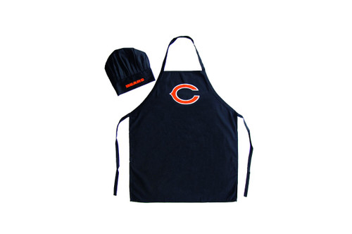 Chicago Bears Apron and Chef Hat Set