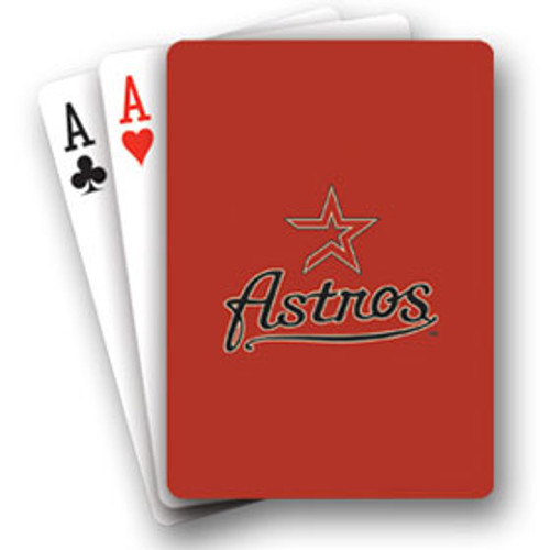 Houston Astros Playing Cards Diamond Plate