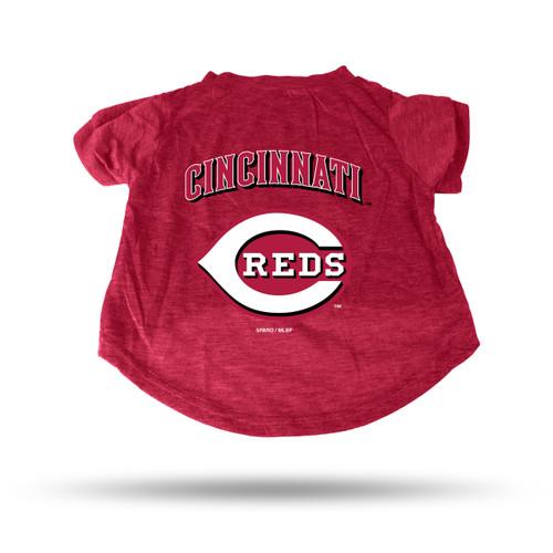 Cincinnati Reds Pet Tee Shirt Size M