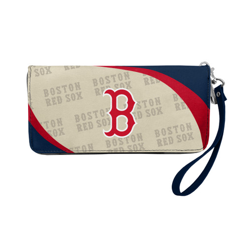 Boston Red Sox Wallet Curve Organizer Style