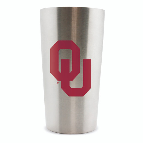 Oklahoma Sooners Thermo Cup 14oz Stainless Steel Double Wall